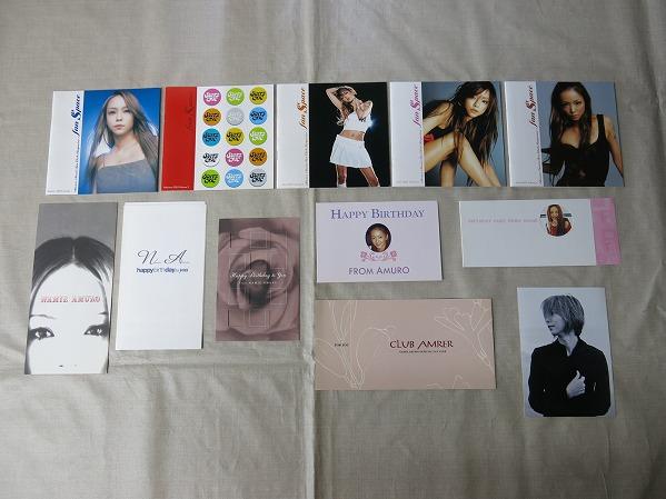 安室奈美恵ポストカード