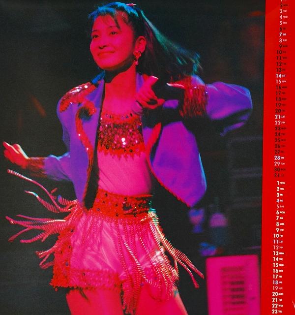森高千里カレンダー1994年