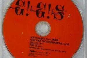 スピッツファンクラブ限定DVD GO!GO!SCANDINAVIA