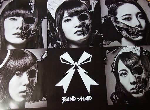 BAND-MAIDポスター